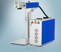 100W Raycus Fiber Laser Marking Machine Metal Non-Metal Engraving CNC ring mark