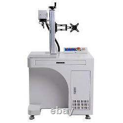 11.8 x 11.8 50W Raycus Fiber Laser Marking Machine Engraver For Metal Marker