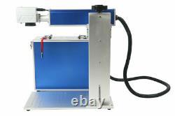 150x150mm Detached 50W Fiber laser marking machine metal / Non-Metal