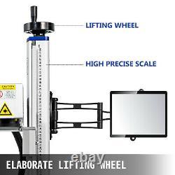 20W 150150mm Fiber Laser Marking Machine Laser Engrave Metal & Non-metal