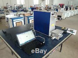 20W Desktop Fiber Laser Marking Machine Engraver / Maker CE FDA 110V