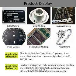20W Engraver Marking Machine Fiber Laser Engraving Machine & Rotary Axis