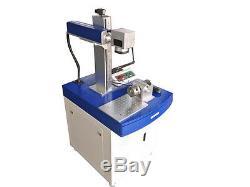 20W Fiber Laser Marking Etching Engraving Machine Engraver/Metal SS Steel Wood