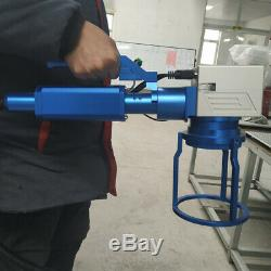 20W Hand held fiber laser marking machine Raycus metal engrave stainless steel
