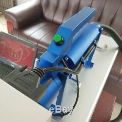 20W Hand held fiber laser marking machine mark meal Tires Rubber leather engrave