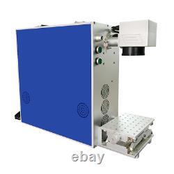 20W Mini Laser Engraver 110V/60Hz Fiber Laser Marking Machine for Metal