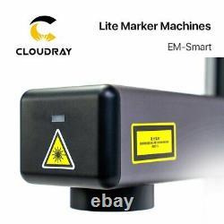 20W Raycus Fiber Laser Marking Machine 1064nm Intelligenter Smart Marker 110x110