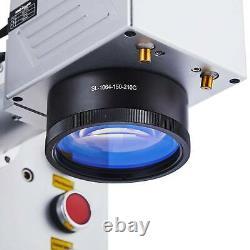 20W Raycus Fiber Laser Marking Machine 5.9x 5.9 For Metal Engraver Laser Focus
