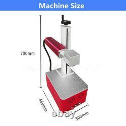 20W Raycus Fiber Laser Marking Machine Portable Metal Engraving For Gold Silver