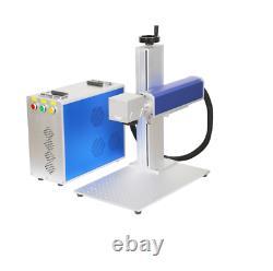 20W Raycus Laser Source Split Fiber Laser Marking Machine With Rotary 110110mm