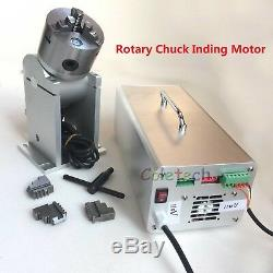 20W Raycus Max Fiber Laser Marking Machine Enclosed Engraver Metal & Rotary DHL