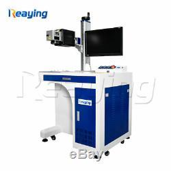 20W Raycus fiber laser metal marking machine 3D galvo lens engraving machine
