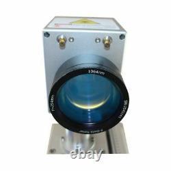 20W Split Fiber Laser Marking Machine Raycus Laser Engraver + Rotation Axis