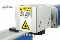 20w Fiber Laser Marking Machine Fiber Laser Engraver & Rotating Axis