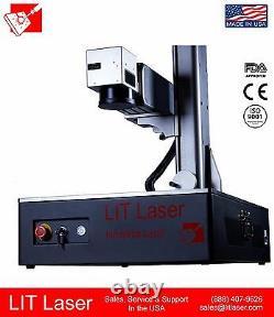20watt Q-SWITCHED FIBER LASER MARKING/ ENGRAVING SYSTEM HALF CASE