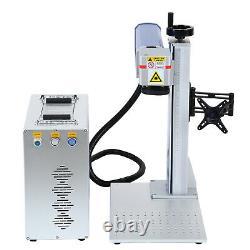 30W 110V High Precision Fiber Laser Marking Metal Engraving Engraver Machine