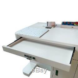 30W Desktop Fiber Laser Marking Machine 7.9x7.9 Metal Engraver Engraving CNC
