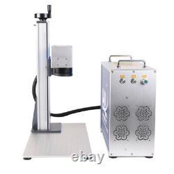 30W Desktop split Fiber Laser Marking Machine Metal Engraving for gold silver