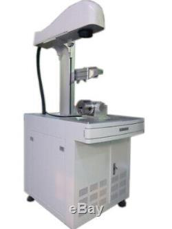 30W Fiber Laser Engraver, Fiber Marking Machine with Computer Software Included
