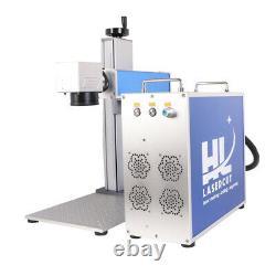 30W Fiber Laser Marking Machine Laser Engraver For Metal Engraving Poland Ship