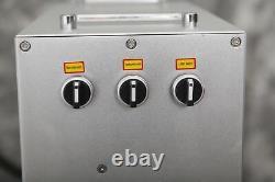 30W Fiber Laser Marking Machine Metal Engraver Engraving High Precision Portable