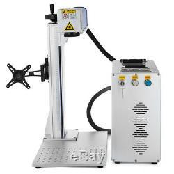 30W Fiber Laser Marking Machine Metal Engraver Engraving High Precision Tool