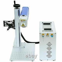 30W Fiber Laser Marking Machine Metal Engraving Engraver High Precision 110V