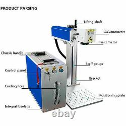 30W Fiber Laser Marking Machine Metal Engraving Engraver High Precision 110/220V