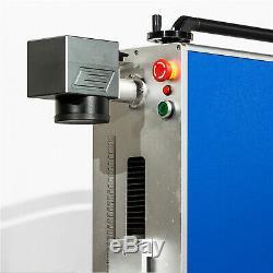 30W Fiber Laser Marking Machine Portable Machine 3D printer ring mark gunmark