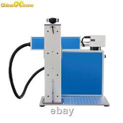 30W Fiber Laser Marking Machine for Metal Steel300300mm & Double Field Lens
