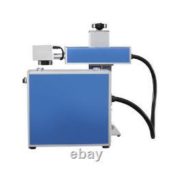 30W Fiber Laser Metal Marking Machine Engraver Engraving High Precision Portable