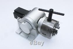 30W Fiber laser marking engraving etching machine rotary silver cutting jewllery
