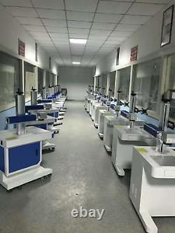 30W IPG Fiber Laser Marking Machine Laser Engraver for Metal