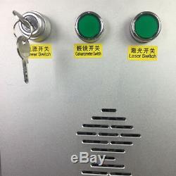 30W JPT M6 Fiber Metal Laser Marking Machine Color Engraver on steel