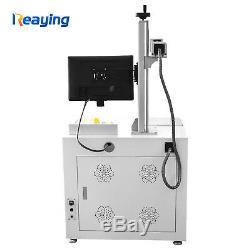 30W Raycus Fiber Laser Marking Engraving Cutting Machine Gun DIY Photo Marker