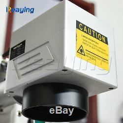 30W Raycus Fiber Laser Marking Machine Metal Non-Metal Engraving CNC Steel DIY
