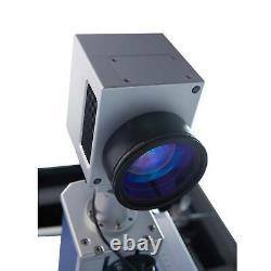 30W Raycus Fiber Laser Marking Metal Steel Marker Engraver Machine 7.9× 7.9