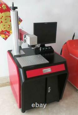 30W Raycus Fiber laser marking machine metal marking jewelry ss marking machine
