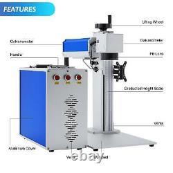 30W Split Fiber Laser Marking Machine Engraver 7.9 x 7.9 For Metal Marker