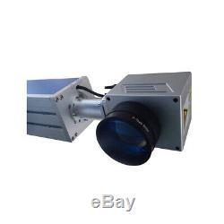 30W Split Fiber Laser Marking Machine Engraver Raycus Laser+Rotation Axis FDA CE