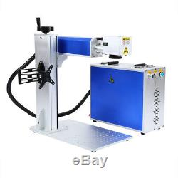 30W USB Fiber Laser Marking Machine Steel Metal&Non-Metal Laser Focus EzCad2