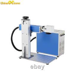 30W fiber laser marking machine for metal 110mm110mm Split fiber marking laser