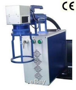 30W raycus fiber laser marking machine marker laser engraver metal plastic wood