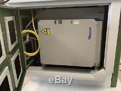 30 Watt Fiber Laser Marking System In US Import Duties Paid With Rotary REDUCED