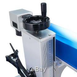 30 Watt Split Fiber Laser Marking Machine 7.9x7.9 Metal Marker Cutter Engraver