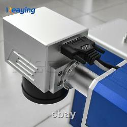 30w Raycus Fiber Laser Metal Marking Engraving DIY Tag Photo Engraver 110110mm