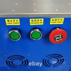 30w fiber laser marking machine metal laser engraver sino lens Raycus laser