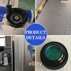 50W Fiber Laser Marking Machine Engraving Machine Laser Focus High Precision
