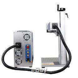 50W Fiber Laser Marking Machine Laser Engraver For Metal & Non-Metal Red Dot