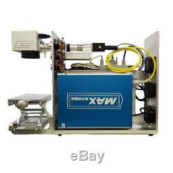50W Fiber Laser Marking Machine Laser Metal Engraving Machine 150mm with CE FDA